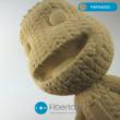 FiberWood fa hatású filament Termékminta